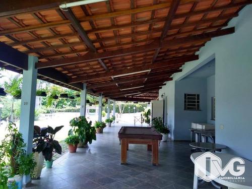 Imagem 1 de 18 de Chácara À Venda, 17873 M² Por R$ 1.700.000,00 - Parque Agrinco - Guararema/sp - Ch0035