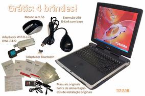Notebook Toshiba Satellite Pentium 4 2400-s201 + 4 Brindes