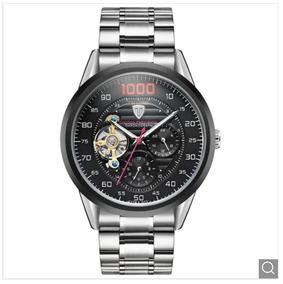Relógio Masculino Aço Tevise 1000 Mecânico Automático 8378