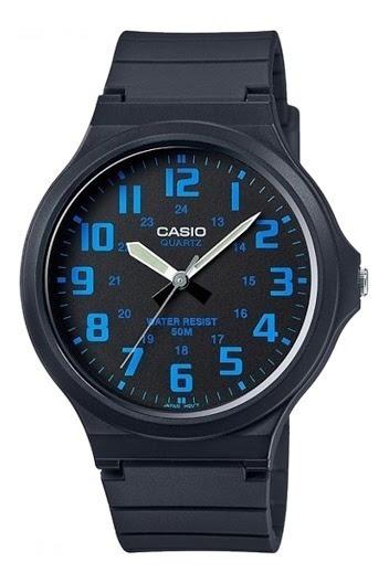 Relógio Casio Masculino Mw-240-2bvdf Analógico Original