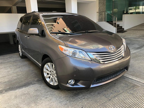 Toyota Sienna Limited 4x4 2012 Gris Oscura Dvd Piel Sunroof