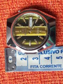 Relógio Antigo Orient Mostrador Colorido Automático 21 Jewel
