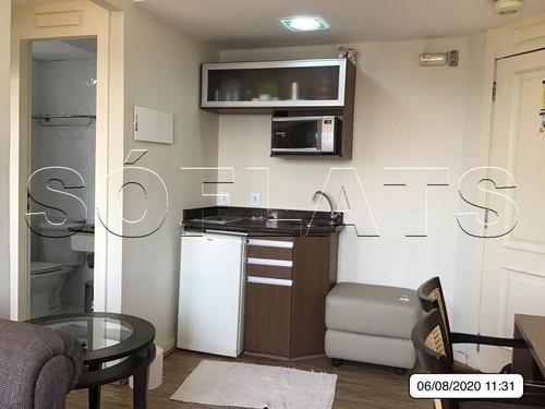 Flat Para Morar Ou Investir Na Vila Olímpia, Prox A Av. Dos Bandeirantes - Sf32422