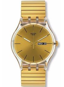 Relógio Swatch Dazzling Light - Suok702b