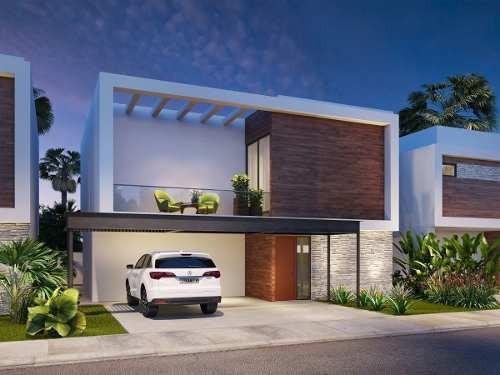 Casa eka En Los Cabos: Nueva, Moderna, 2 Pisos - 212m2 Constr. Eka B5 /b2