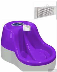 Fonte Bebedouro 2,5 Litros Água Furacão Pet +1 Refil Brinds