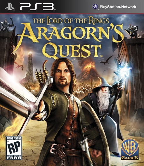 Jogo Lord Of The Rings Aragorns Quest Playstation 3 Ps3 Move