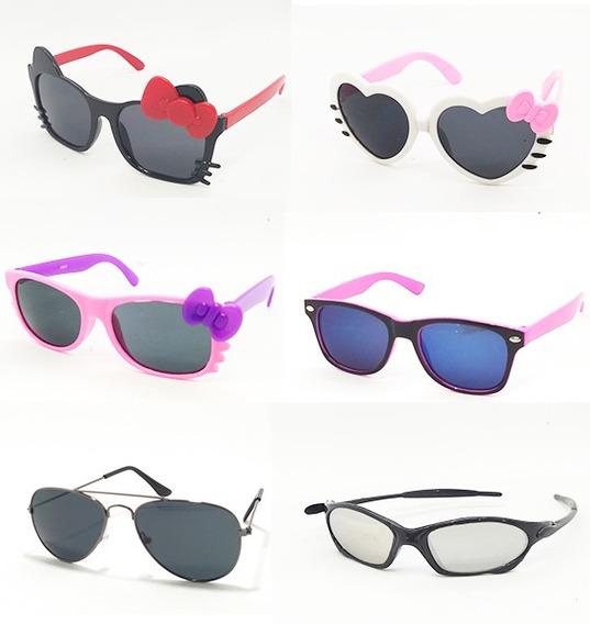 Óculos De Sol Infantil Kit C/20 Unidades Atacado E Revenda