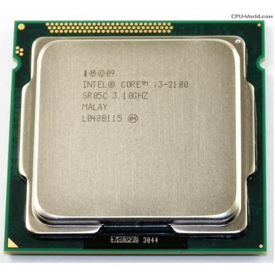 Processador Intel Core I3-2100 Lga 1155 3.1ghz/3m Oem