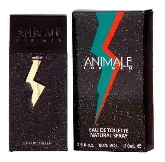 Perfume Animale Masculino Eau De Toilette 30ml Original/nf