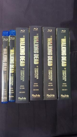 The Walking Dead Blu-ray 6 Temporadas. Novo