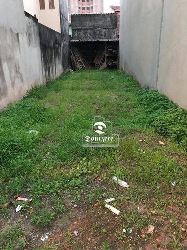 Terreno À Venda, 125 M² Por R$ 245.000,00 - Parque Selecta - São Bernardo Do Campo/sp - Te0753