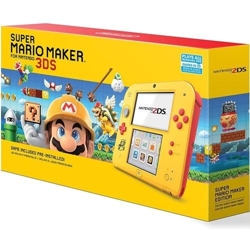 Console Nintendo 2ds Super Mario Maker Bundle - Nintendo