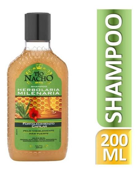 Tío Nacho Shampoo Herbolaria Milenaria 200ml