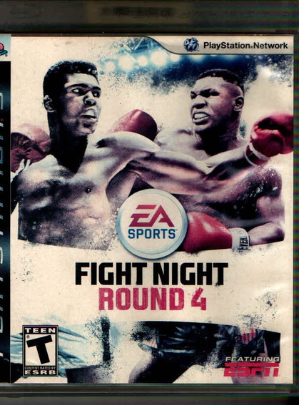 Fight Night Round 4 Fisica Ps3 -