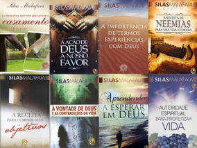 Combo40 Livros Do Pastor Silas Malafaia + Brindes Exclusivos