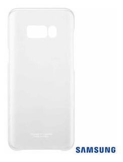 Capa Para Galaxy S8 Plus Clear Cover Prata -samsung Original