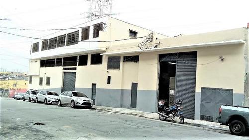 Galpão Para Alugar, 689 M² Por R$ 7.000,00/mês - Vila Prudente - São Paulo/sp - Ga0341