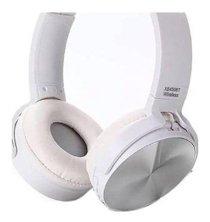 Audifono Inalamrico Y Manos Libres  450bt Blancos