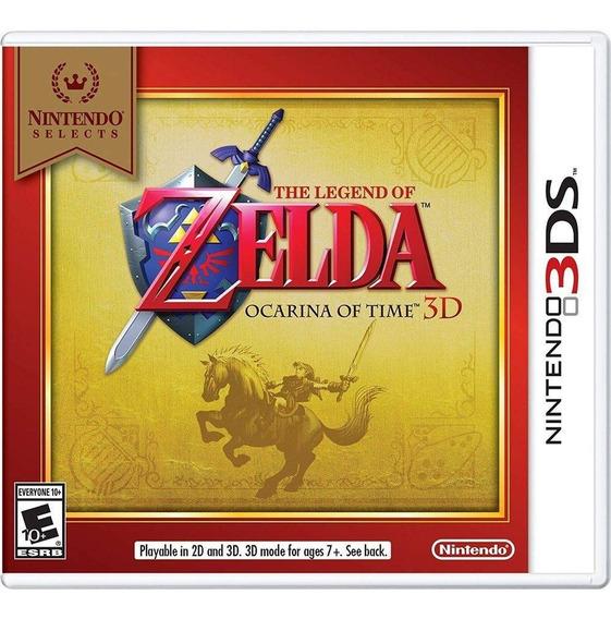 The Legend Of Zelda Ocarina Of Time - 3ds Novo Mídia Física
