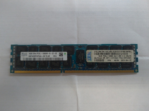 Memória Sk Hynix - 16gb 2rx4 Pc3l-10600r - Ibm