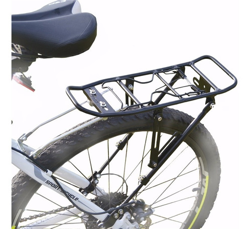 Porta Equipaje Bicicleta Apto Freno A Disco Regulable