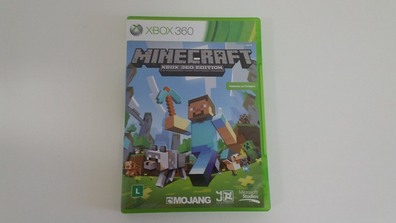 Minecraft Xbox 360 Seminovo Original