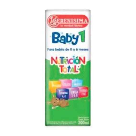 Leche Bebe La Serenisima Baby 1 X 200ml Nutricia Bago