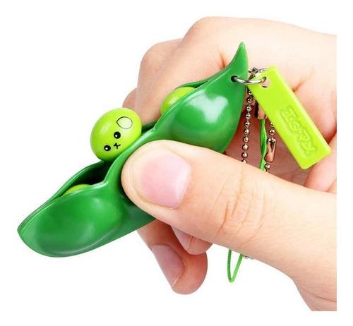 Imagen 1 de 3 de Popit Fidget Toy -  Chaucha Arveja  - Antistress Squishy -