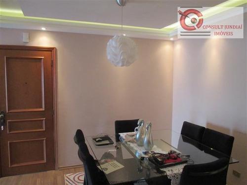 Imagem 1 de 16 de Apartamentos À Venda  Em Jundiaí/sp - Compre O Seu Apartamentos Aqui! - 1346852