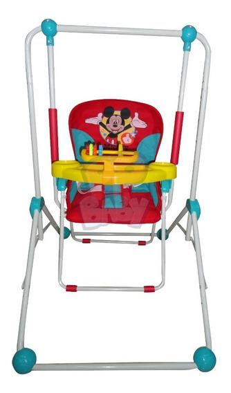 Columpio Hamaca Disney Bebe Plegable Mecedor Mickey - Minnie
