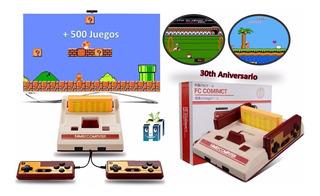 Consola Viedeo Juegos Family Game 30th Aniversario 500 Juego