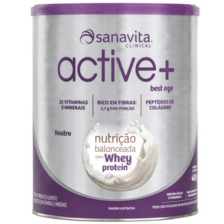 Active+ Best Age Polivitamínico 400g Neutro - Sanavita