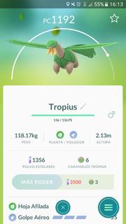 Tropius Pokemon Go