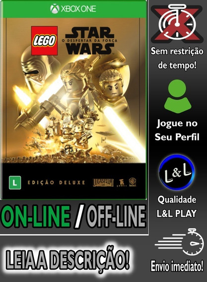 Lego Star Wars The Force Ed. Deluxe Xbox One Digital+brinde