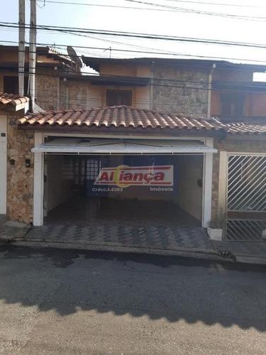 Sobrado Para Venda No Bairro Jardim Santa Cecília Em Guarulhos - Cod: Ai6281 - Ai6281