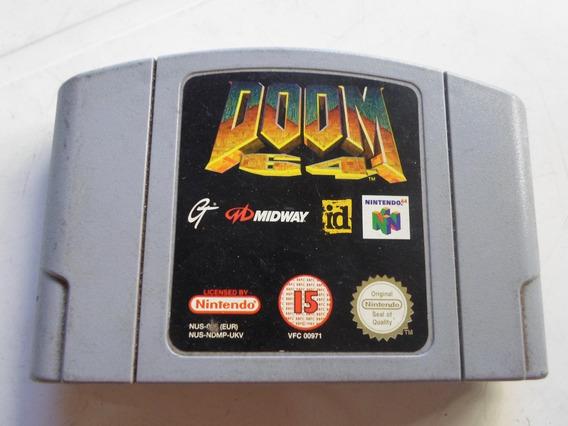 Doom 64 Original ( Europeu ) Para Nintendo 64