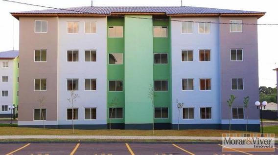 Apartamento Para Venda Em Colombo, Roça Grande, 3 Dormitórios, 1 Banheiro, 1 Vaga - Col1980
