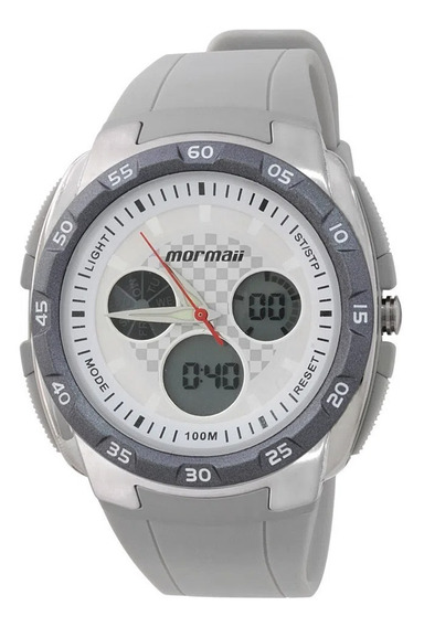 Relógio Analógico Digital Mormaii Action Dm/8b Cinza Alarme