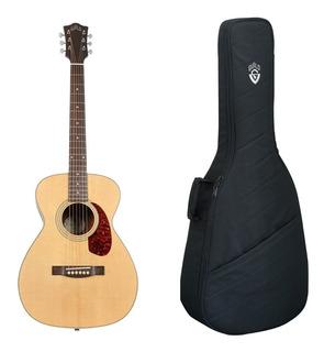 Guitarra Electroacustica Guild M240e Con Funda