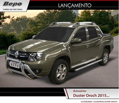 Defensa Frontal  Renault Oroch  Negra 2016 Bepo