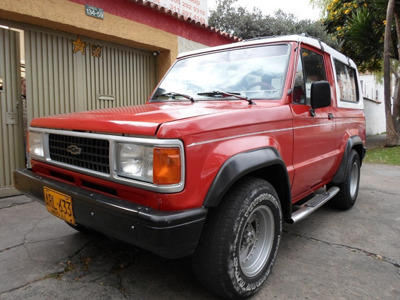 Chevrolet Trooper 1992 4x4 Cabinado