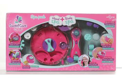 Sweet Care Spa De Manos Y Masajes 2 En 1  - Planet Toys