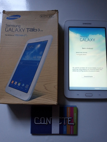 Tablet Samsung Galaxy Tab 3 Em Perfeito Estado Sem Riscos