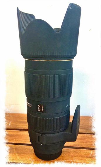 Lente Sigma 70-200mm F/2.8 (para Nikon)