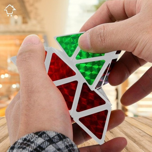 Cubo Rubik Rompecabezas Pirámide Rubik Mágico Pyraminx 3x3