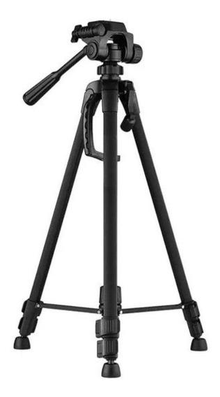 Tripé Telescópico Preto De 064 Até 1,80 Mt Sony Nikon Cannon