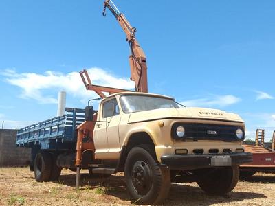Caminhão Chevrolet, D 60,com Munck Motoca Gm 3005