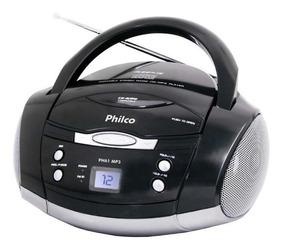 Som Portátil Philco Ph61, Rádio Fm Estério, Cd-r/rw, Auxi