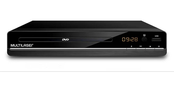 Dvd Player 3x1 Multilaser Usb Dvd Cd E Ripping Sp252 C/ Nfe
